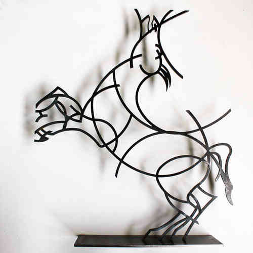Statuette moderne statuette design en m tal objets design et d co - Statue moderne design ...