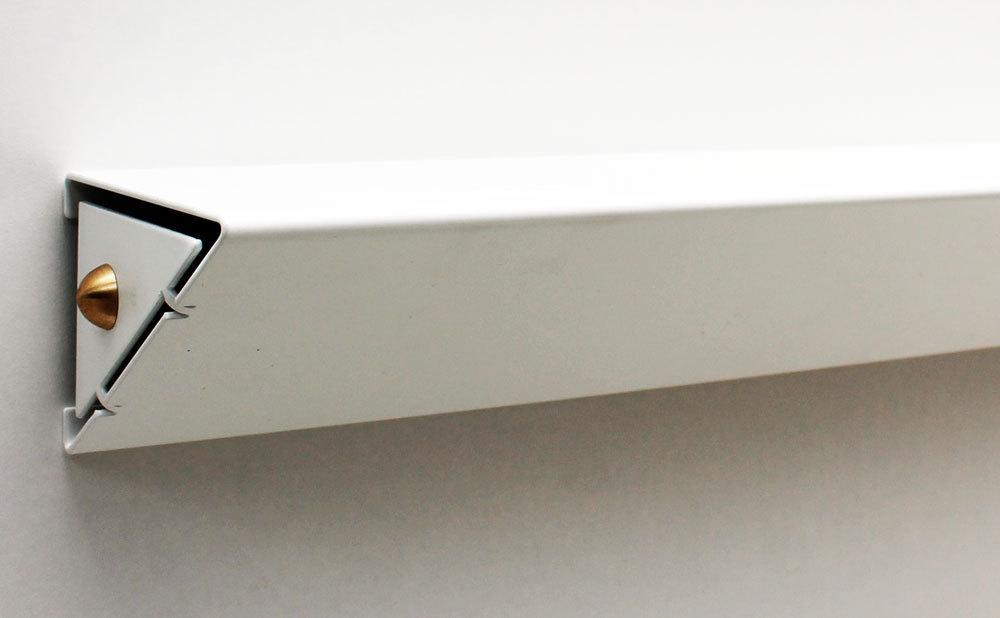 objectal tag re murale moderne blanche tablette design slend. Black Bedroom Furniture Sets. Home Design Ideas