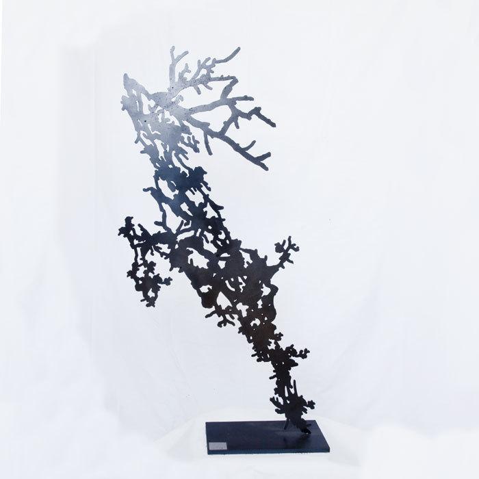 Cerf statue d 39 int rieur design statue sculpture cerf cadeau - Statue decoration interieur ...