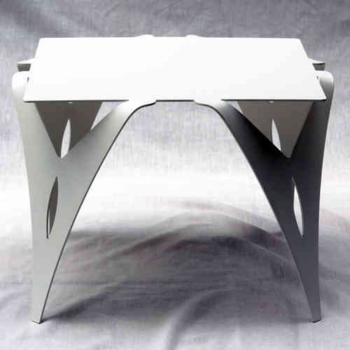 affordable table de chevet bout de canap blanc with chevet suspendu blanc. Black Bedroom Furniture Sets. Home Design Ideas