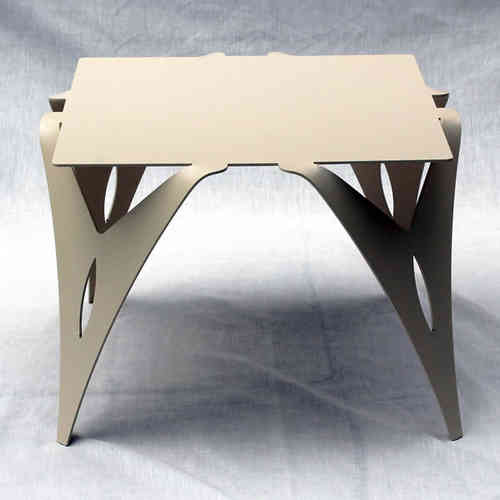 bout de canap table de chevet ivoire - Bout De Canape Design