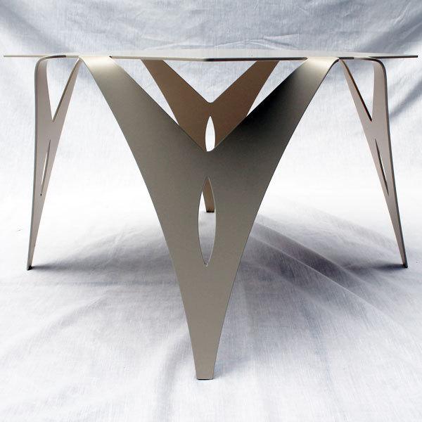 bout de canap table de chevet design moderne m tal objectal. Black Bedroom Furniture Sets. Home Design Ideas