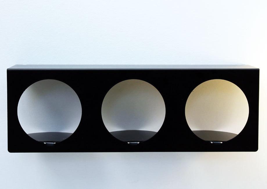 etag re murale moderne design noire tablette murale zoom. Black Bedroom Furniture Sets. Home Design Ideas