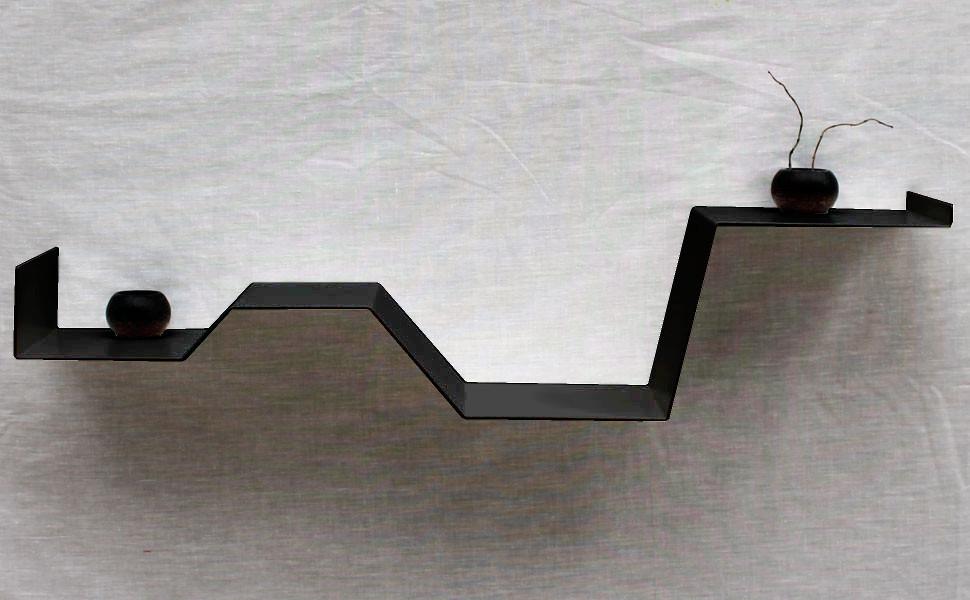 Etagere Murale Noire Moderne Etagere Design Deco Tablette Murale